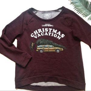 National Lampoon's Christmas Sweatshirt Size Large